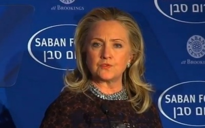 Hillary Clinton at Saban forum