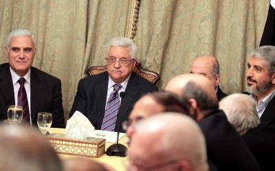 The Fatah-Hamas leaders of the Palestinians