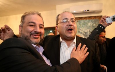 Aiman Ouda and Ahmed Tibi