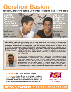 Gershon Baskin at ASU