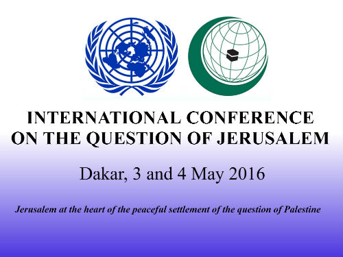 International Conference on the Question of Jerusalem