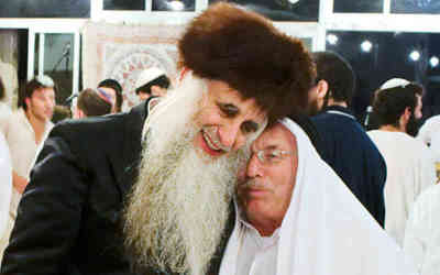 Rabbi Menachem From and Ibrahim Abu el Hawa