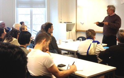 Gershon Baskin's presentation at the The Center for Middle Eastern Studies at Lund University (CMES)