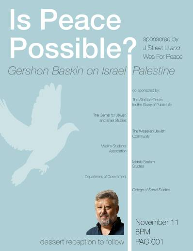 Is Peace Possible? Gershon Baskin on Israel-Palestine