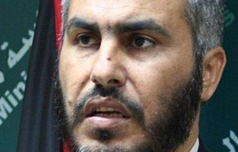 Ghazi Hamad, deputy foreign minister of Hamas.