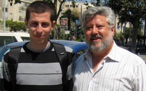 Gilad Schalit and Gershon Baskin