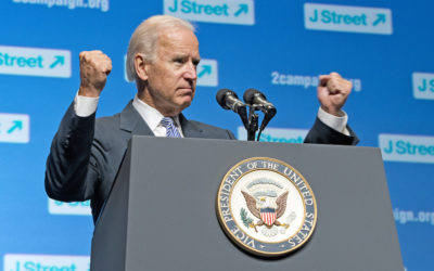 Joe Biden at the annual J Street Conference