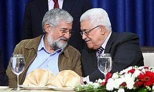 Amram Mitzna and Mahmoud Abbas