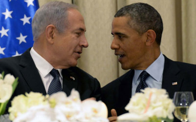 Binyamin Netanyahu and Barack Obama