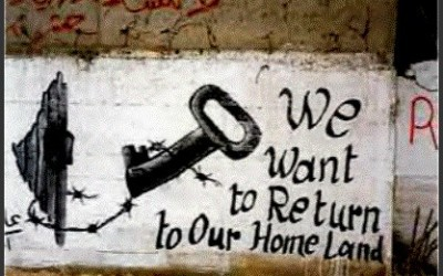 Graffiti of Palestinian Refugees