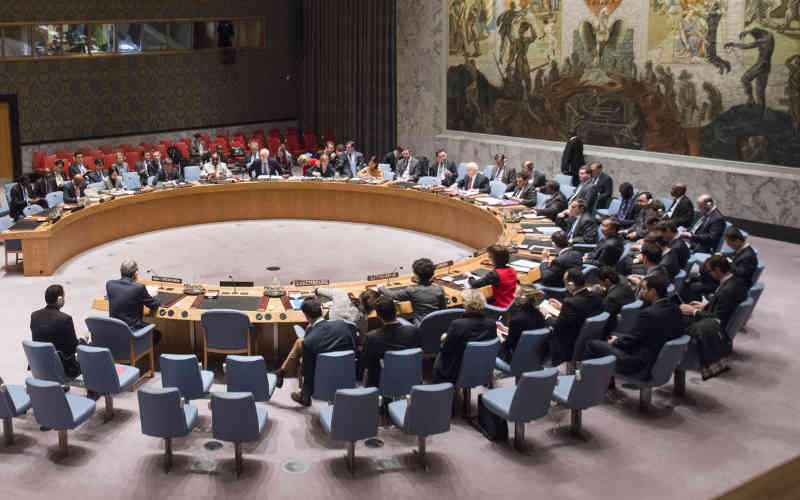 Security Council Meeting on Middle East Situation